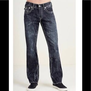 True Religion basic straight w/flaps natural